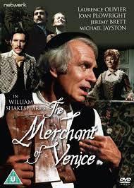 Affiche de la production vidéo qui reprend la représentatiion du National theater avec Laurence Olivier