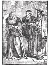 Shylock , Antonio , Bassanio